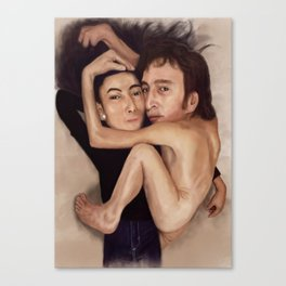 John and Yoko Canvas Print