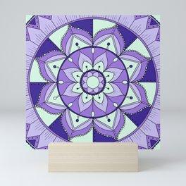 Mandala Maze Mini Art Print