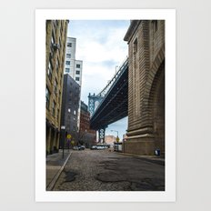 Welcome to DUMBO Art Print