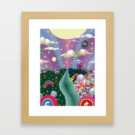 Veso Cuto & Tedo Vec Framed Art Print
