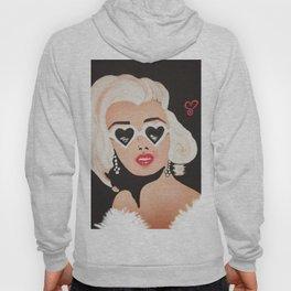Marilyn Painting - Infamous Hoody