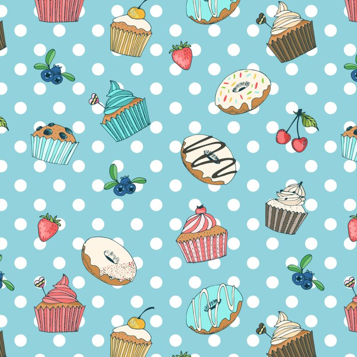 Donuts and muffins Leggings