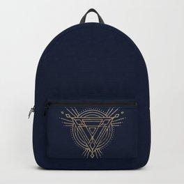 Triangulated Sun Backpack