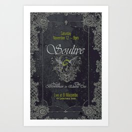 Soulive v01 Art Print