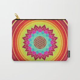 Flower Of Life 005 Carry-All Pouch