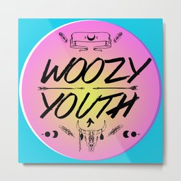 Woozy Youth Metal Print
