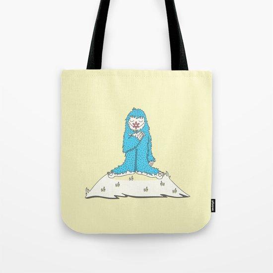 Leon the friendly Yeti Tote Bag