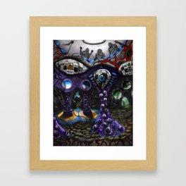 Inner visual acuity Framed Art Print