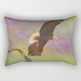Strength and Courage Rectangular Pillow