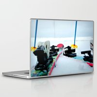 ski Laptop & iPad Skins featuring Ski View by americansummers