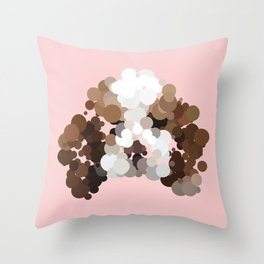 american cocker spaniel Throw Pillow