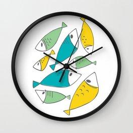 Petites Perchaudes Wall Clock