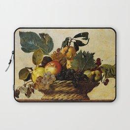 "Michelangelo Merisi da Caravaggio ""Basket of Fruit"" Laptop Sleeve"