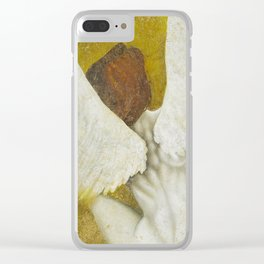 The Gold  Angel Clear iPhone Case