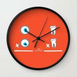 OJO POR OJO, DIENTE POR DIENTE (aka AN EYE FOR AN EYE) Wall Clock