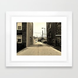 Alley Framed Art Print