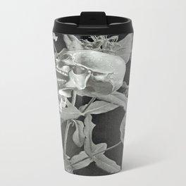 Skullflower Two Metal Travel Mug