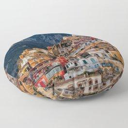 Positano, Italy Floor Pillow