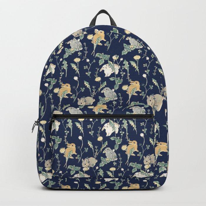 Spring Garden - navy blue Rucksack