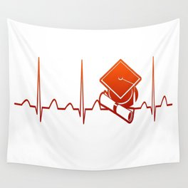 Student Heartbeat Wall Tapestry