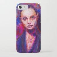 cyarin iPhone & iPod Cases featuring Sad eyes by Gyossaith