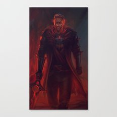 Red Lyrium Cullen Canvas Print