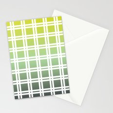 Green Weaver Stationery Cards