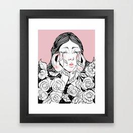 Cry me a garden 2 Framed Art Print