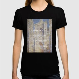 There's A Cathedral T-shirt