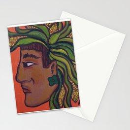 Native Face 3 Stationery Cards
