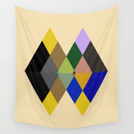 Abstract #712 Wall Tapestry