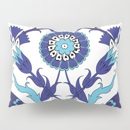 Turkish Tile Art Pattern Pillow Sham
