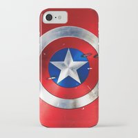 agents of shield iPhone & iPod Cases featuring SHIELD by Smart Friend