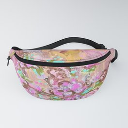 Moonlight In The Valley Of Roses Fanny Pack