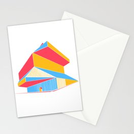 Rem Koolhaas - Seattle Central Library Stationery Cards