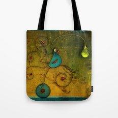 Lampbird Tote Bag