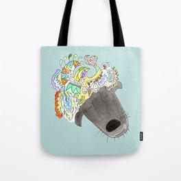 A dog can dream! Tote Bag