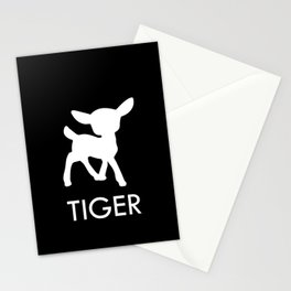 Bambi Tiger Stationery Cards