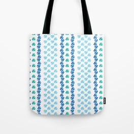 Typographic Pattern: Ampersand III Tote Bag