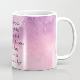 John 3:16, For God So Loved the World Scripture Coffee Mug