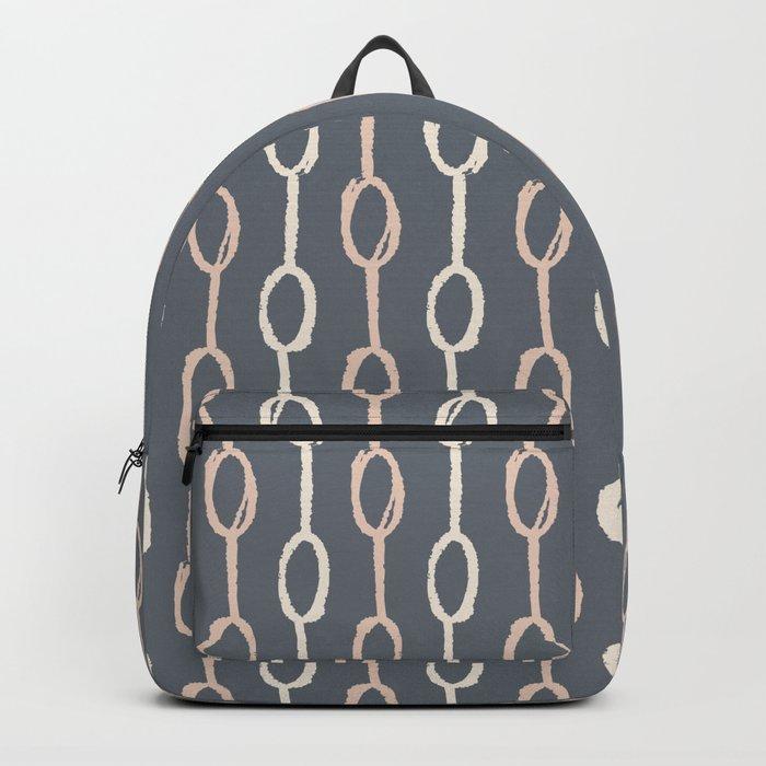 Girly Dot Stripe 1 Backpack