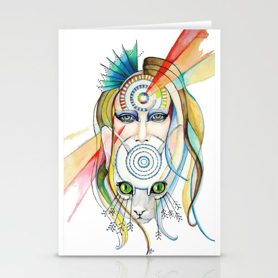 Vision and Silence Stationery Cards