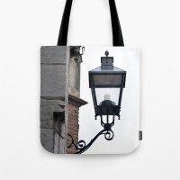 lantern Tote Bags featuring Lantern by Marieken