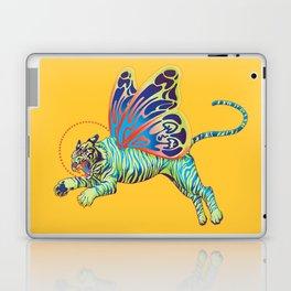 Psychedelic Tiger Moth Laptop & iPad Skin