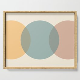 Circle Gradient - Melons Serving Tray