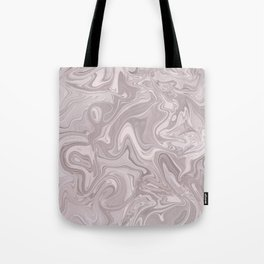 Faux Marble In Elegant Soft Pink Tote Bag