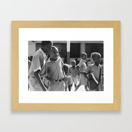 Hide away / Pignon, Haiti Framed Art Print