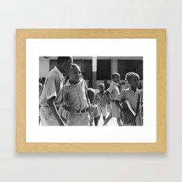 Hide away / Pignon, Haiti Framed Art Print