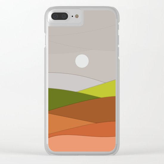 Landscape NC 04 Clear iPhone Case