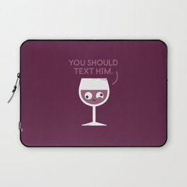 You Red My Mind Laptop Sleeve